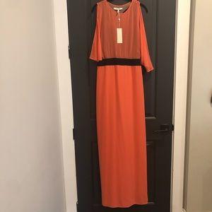 "The ""Paloma"" dress - coral reef - bcbgmaxazria NWT"